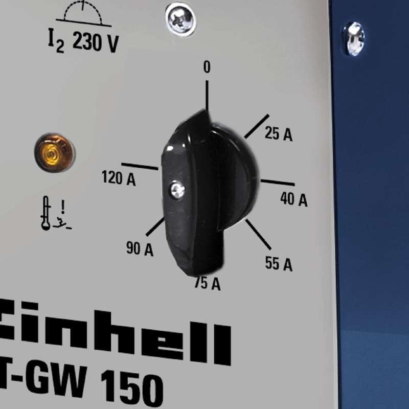 Svářečka s ochrannou atmosférou BT-GW 150 Einhell Blue-4