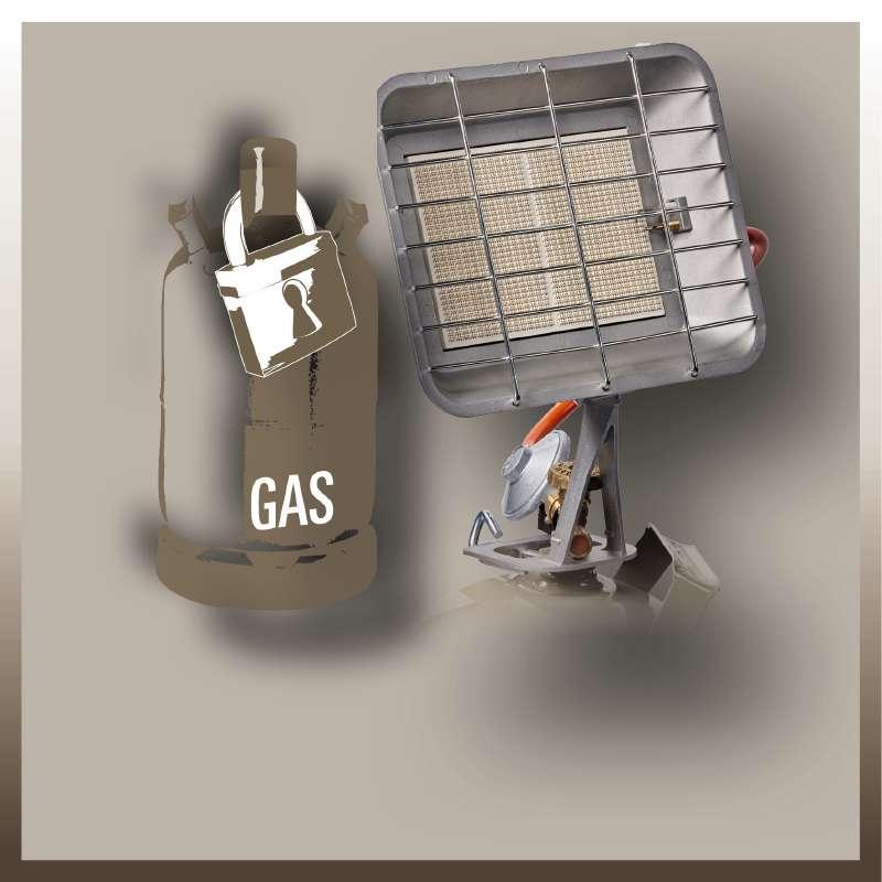 Plynový ohřívač GS 4400 P Einhell-4