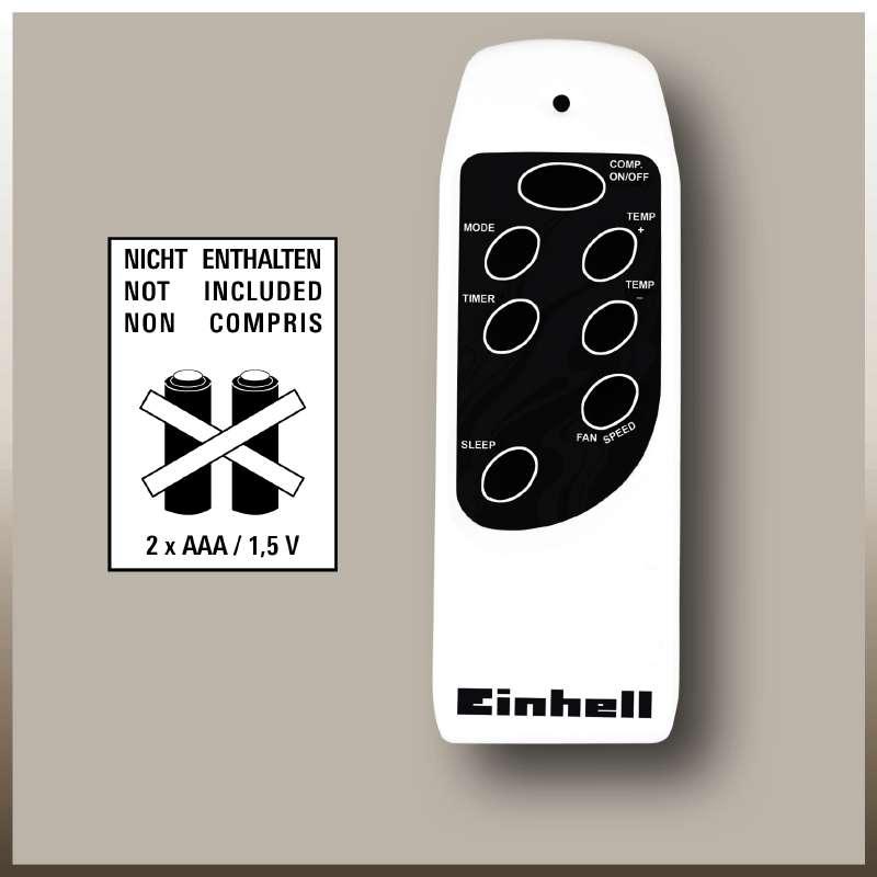 Mobilní klimatizace Einhell MK 2100 E-8