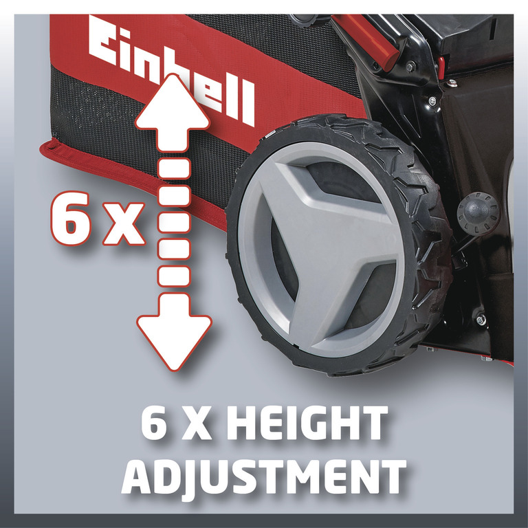 Sekačka benzínová GE-PM 48 S HW B&S Einhell Expert-8
