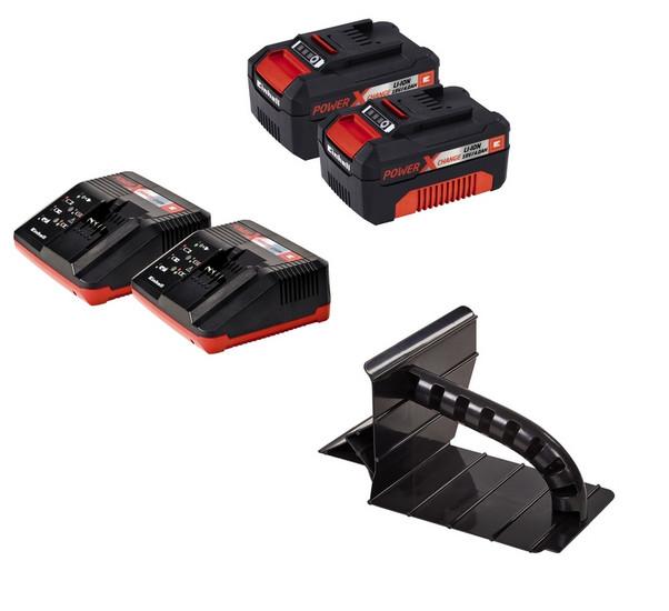 Sekačka aku GE-CM 43 LI M Kit (2x4,0 Ah) Einhell Expert Plus (včetně 2 baterií a 2 nabíječek)-2