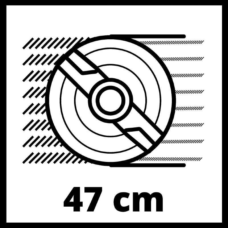 Sekačka AKU GE-CM 36/47 HW Li (2 x 4 Ah) Einhell-4