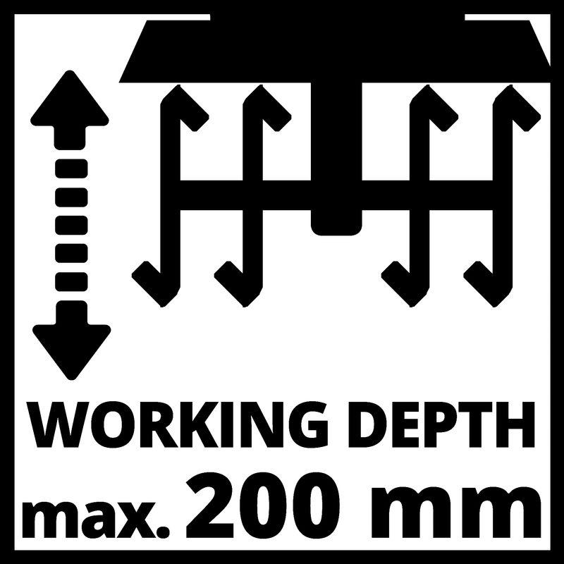 Elektrický kultivátor GC-RT 7530 Einhell-2