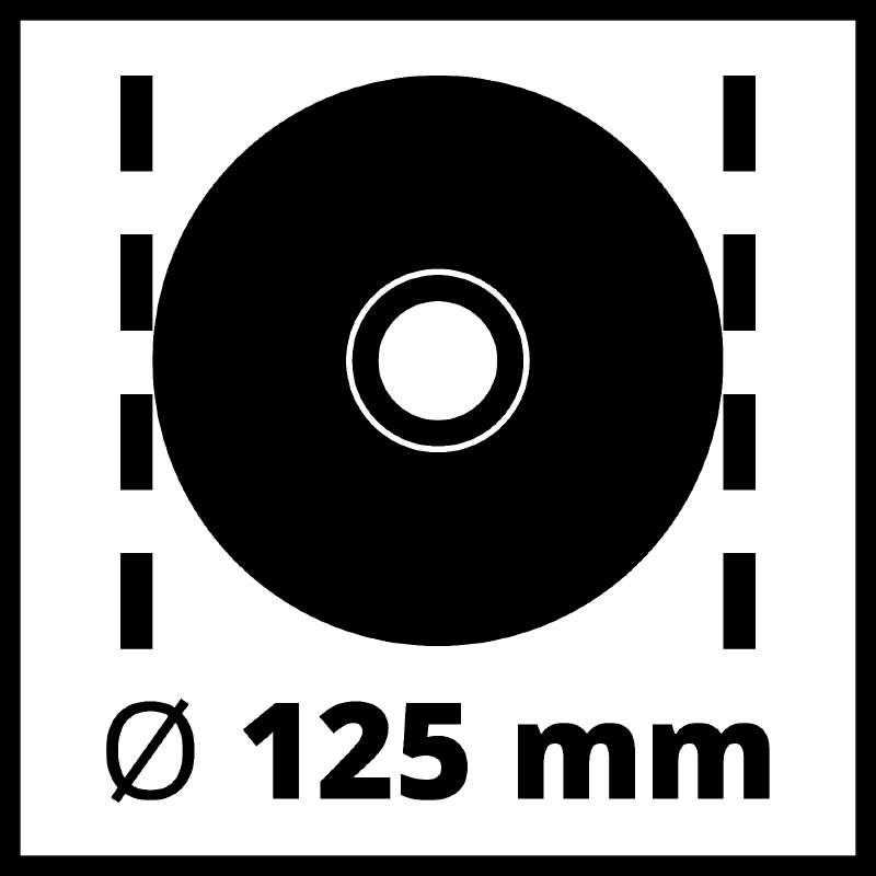 Bruska úhlová TE-AG 125 CE Kit Einhell Expert-6