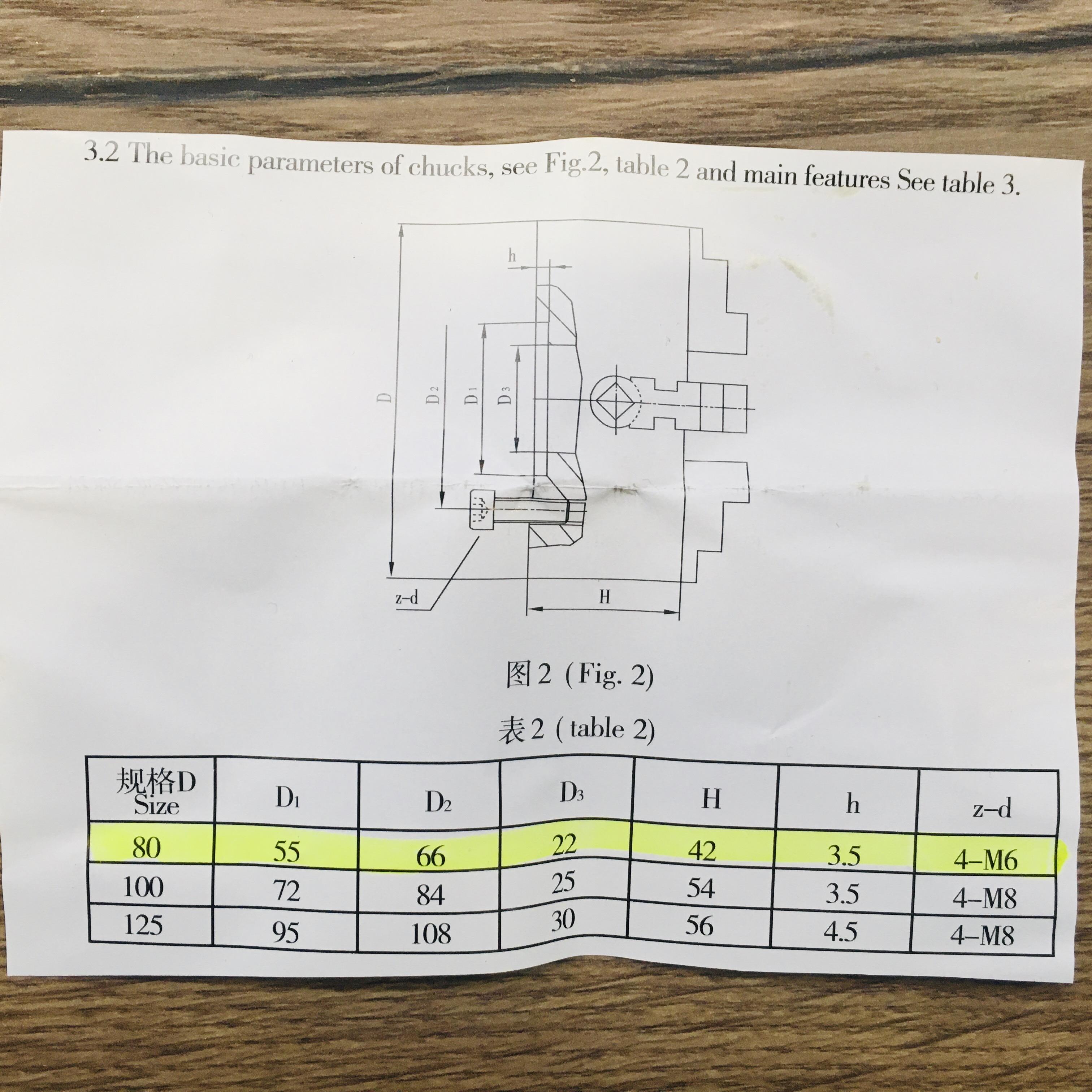 Čtyřčelisťové nesoustředné sklíčidlo 80 mm Einhell-3