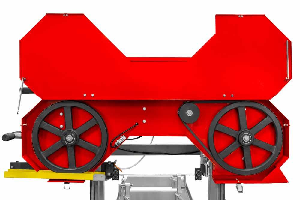 Kmenová pásová pila Holzmann BBS350-3