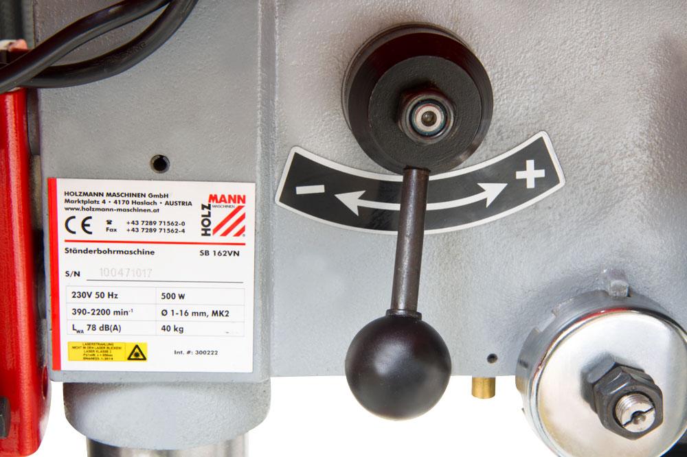 Stojanová sloupová vrtačka Holzmann SB162VN-3