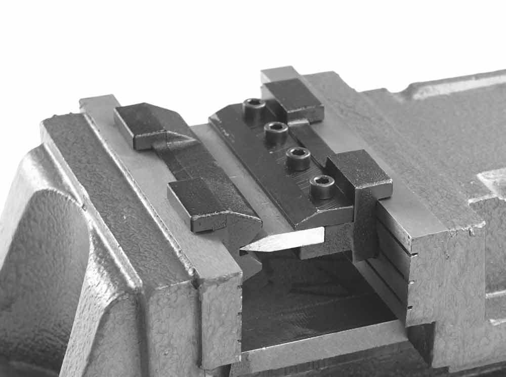 Magnetické ohýbací čelisti do svěráku Holzmann WBS125AKM-1