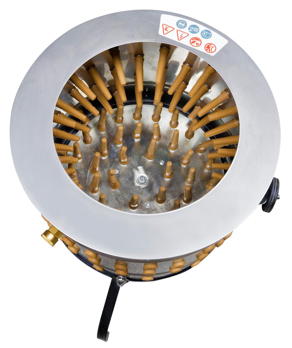 Stroj na škubání drůbeže Zipper ZI-GRM1100-1