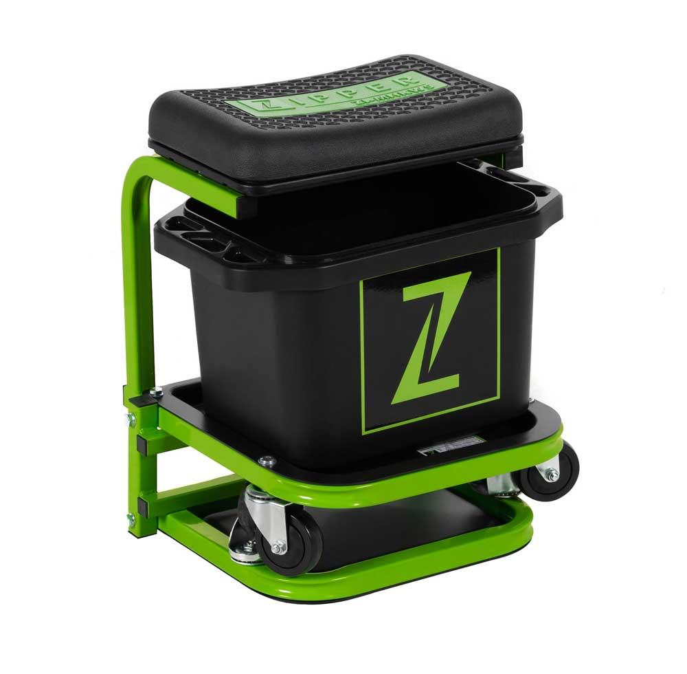 Mobilní montážní stolička s mycí nádobou Zipper ZI-MHKW5-1