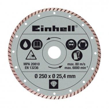 Diamantový řezací kotouč Diamond 250x25,4mm turbo Einhell