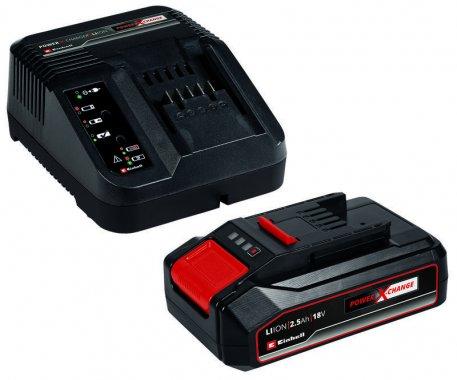 Nabíječka a baterie 18V 2,5Ah PXC Starter Kit Einhell