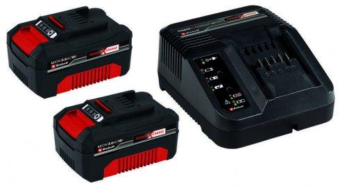 Baterie a nabíječka Power X-Change 2x 3,0 Ah Einhell